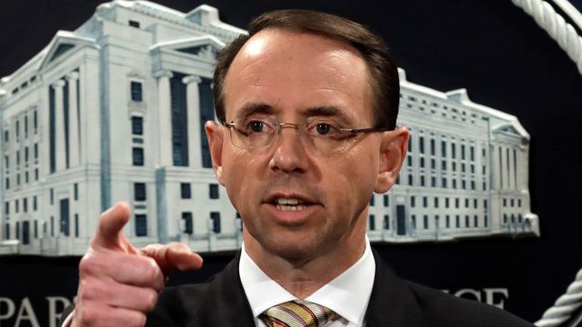 Deputy AG Rosenstein testifies at House oversight hearing