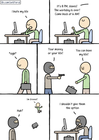 Welcome to the rat race • r/comics