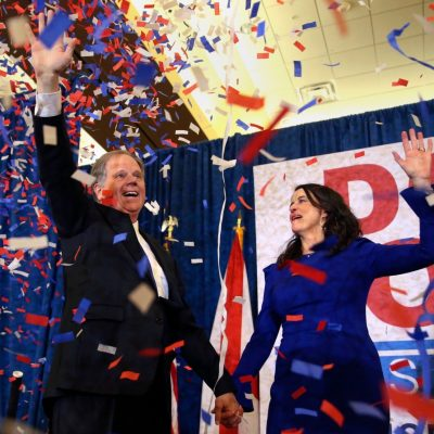 Doug Jones defeats Roy Moore for the U.S. Senate seat from Alabama
