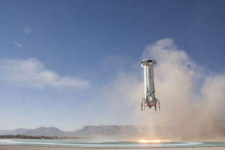 After 14 months, a new and improved New Shepard flies again