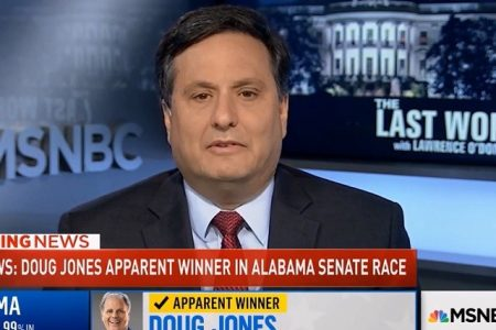 Ronald Klain: 'The Fact That Roy Moore Was a Predator' 'Was a Desirable Factor' for Trump