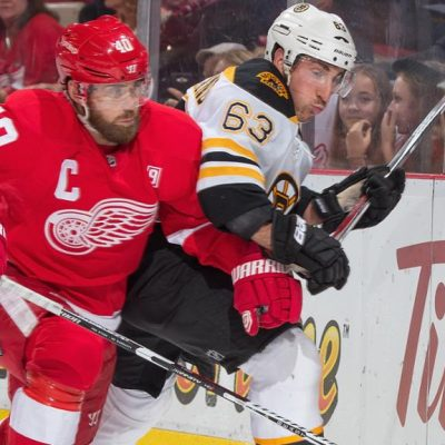 Pluses, minuses for Bruins, Red Wings