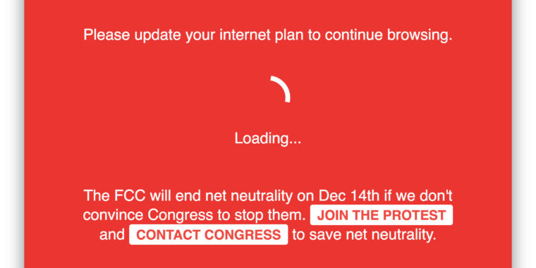"How Reddit and others ""broke the Internet""  to support net neutrality today"