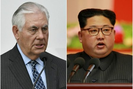 Rex Tillerson: U.S. Ready for 'First Meeting Without Precondition' with North Korea
