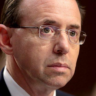 Rosenstein on hot seat as parties allege FBI bias
