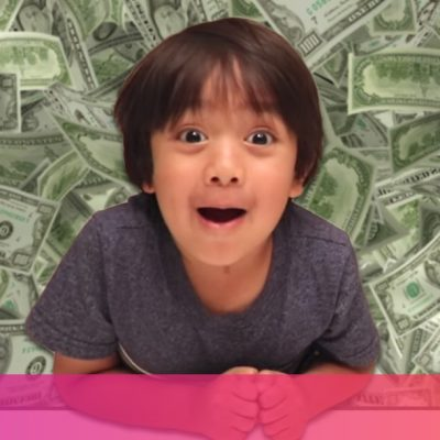 This 6-year-old made $11M reviewing toys on YouTube last year. What are you doing with your life?