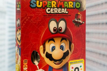 Super Mario Cereal is perfectly edible