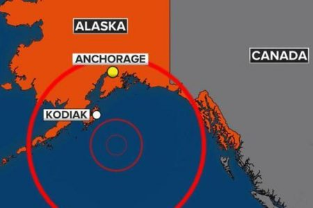 Tsunami warning puts Alaska, western US on edge after powerful quake