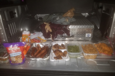 Texas inmate busted while reentering prison with booze, home-cooked meals: cops