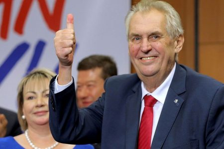 Pro-Trump Czech president who warned of 'organized invasion' of migrants wins re-election