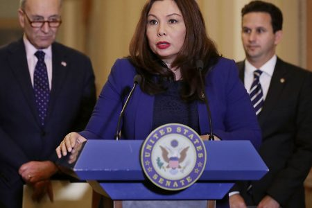 Duckworth to become first senator to give birth while in office