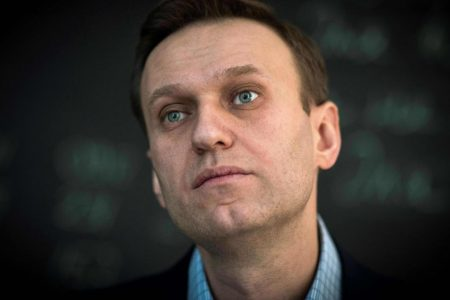 Russian opposition leader Alexei Navalny arrested during protests