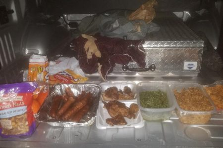 Escaped Texas inmate arrested running back to jail with bag of booze, food