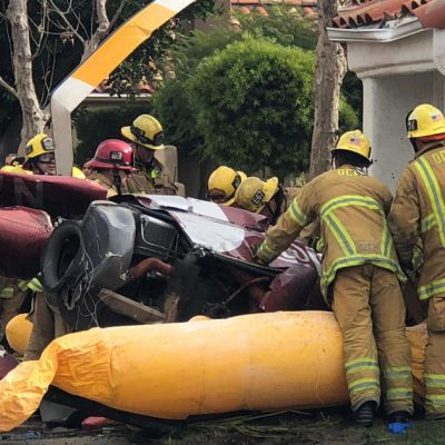 Newport Beach helicopter crash: 3 dead, 2 injured in Southern California