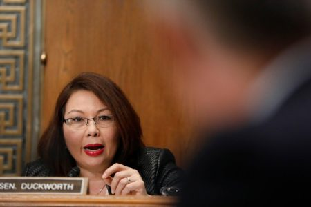 Duckworth, Saying She's Pregnant, Would Be First Sitting Senator to Give Birth