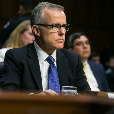 Taunted by Trump and Pressured From Above, McCabe Steps Down as FBI Deputy