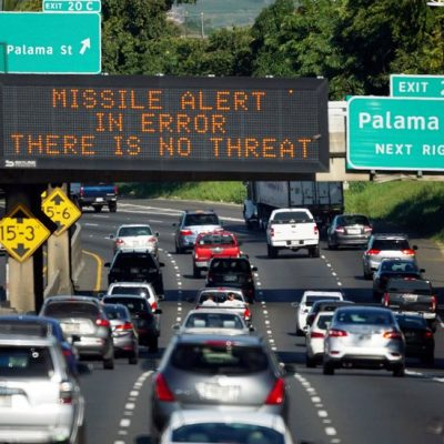 Worker Who Sent Hawaii Missile Alert Thought Threat Was Real, FCC Says