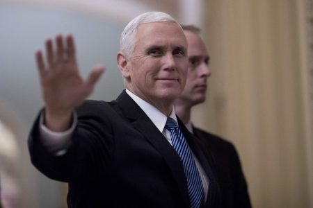 Pence forced to break tie over nomination of Brownback for religious freedom post
