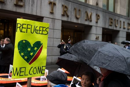 US lifts ban on refugees from 'high-risk' nations but pledges tougher scrutiny