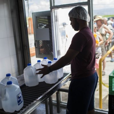 FEMA to stop distributing emergency food and water to Puerto Rico