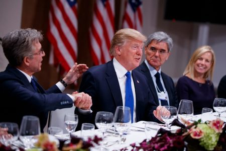 Trump wins over global elites at Davos. All it took was a $1.5 trillion tax cut.