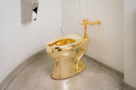 An art critic explains what the Guggenheim was really saying when it offered Trump a golden toilet