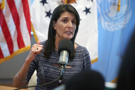 An affair with Trump? Nikki Haley on 'disgusting' rumors and her rise to a top foreign policy role