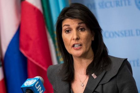 Nikki Haley rips 'offensive' and 'disgusting' rumor of affair with Trump that stemmed from Michael Wolff's book