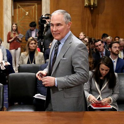 Dems go on the attack during EPA chief's hearing