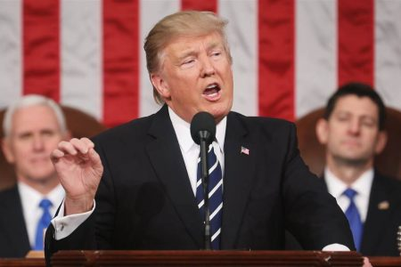 Trump's State of the Union theme: 'A safe, strong and proud America'
