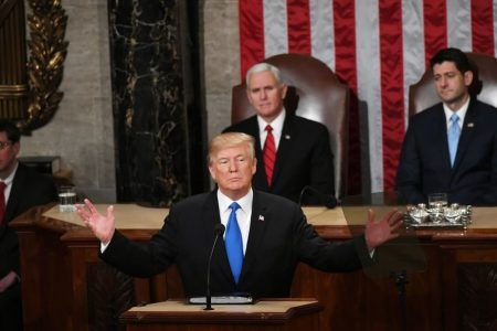 Could Trump be the president who finishes off the State of the Union address?