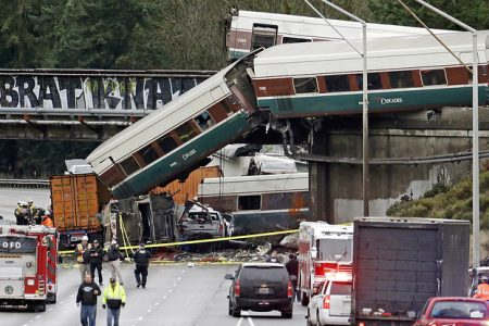 The Amtrak Engineer In The Deadly Washington State Train Crash Missed Speed Limit Signs