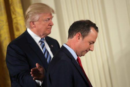 Trump Said Inauguration Crowd Numbers Were 'Bullshit' Says Reince Priebus In New Book