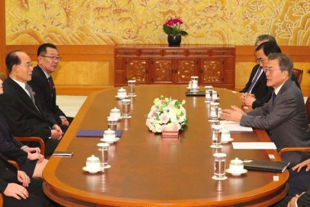 Kim Jong-un Invites South Korean Leader to North for Summit Meeting