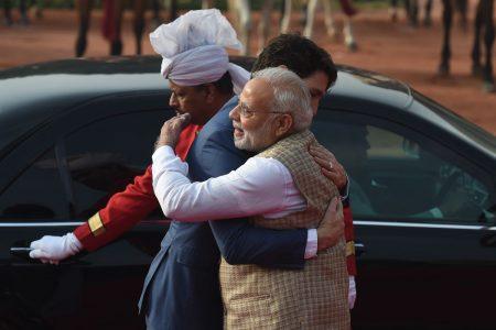 Modi Hugs Trudeau Amid Indo-Canada Invitation Embarrassment