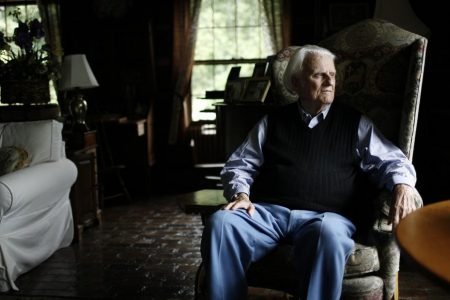 Billy Graham will be only the 4th person to lie in honor at the Capitol