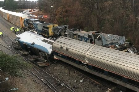 Amtrak boss blames CSX, feds after deadly crash in South Carolina