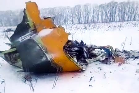 Russian plane crash outside Moscow leaves 71 dead