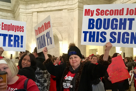West Virginia closes all public schools amid teacher strike — even as governor signs pay bill