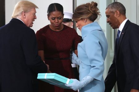 Michelle Obama relives awkward Inauguration Day gift exchange