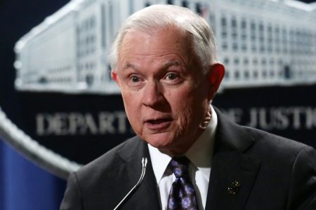 Sessions invokes 'Anglo-American heritage' of sheriff's office