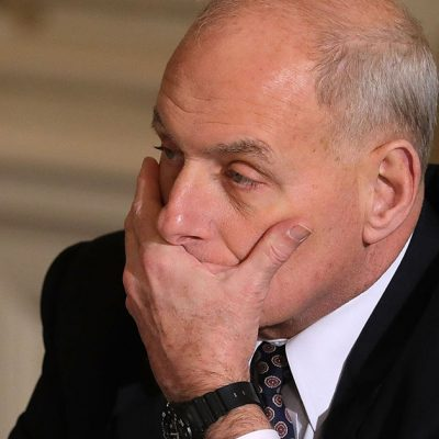 Kelly increasingly isolated as Porter scandal rages on
