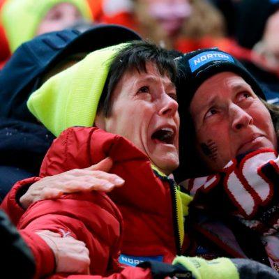 Emily Sweeney's luge crash stuns Olympic crowds