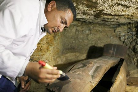 Archaeologists discover burial ground for Egyptian high priests