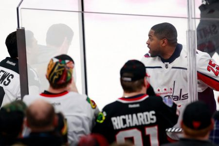Devante Smith-Pelly of Capitals Calls Racial Taunts in Chicago 'Disgusting'