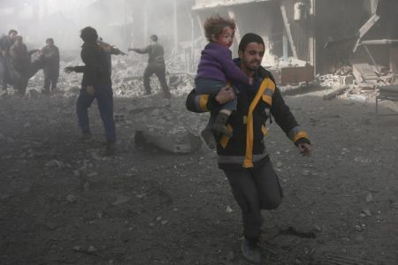 Syrian Bombardment Takes Its Deadliest Toll in Years