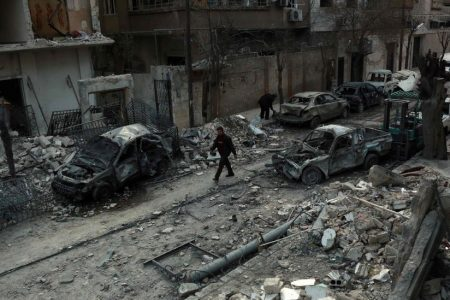 Despite UN Cease-Fire, Syrian Forces Begin New Attacks in Rebel-Held Enclave