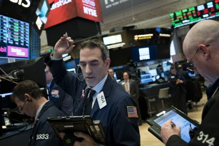 Dow ends wild day down 1175 points, largest point drop in history