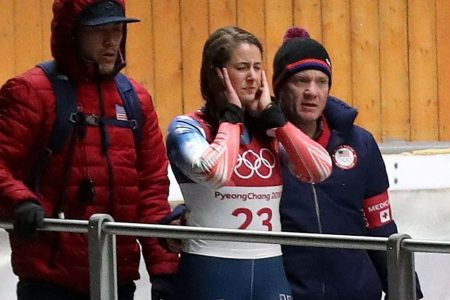 Winter Olympics luge: Athletes accept the risk of crashes and danger