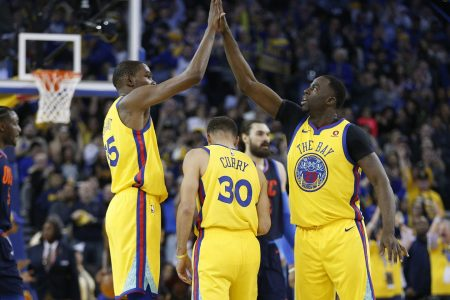 After two blowout losses to OKC, Warriors rout Thunder